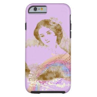 iPhone 6 ToughCase de señora Purple de la fan del Funda Resistente iPhone 6