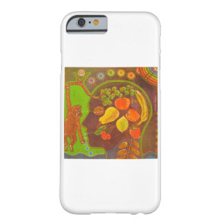 iPhone 6 vegan monkey fruits Barely There iPhone 6 Case