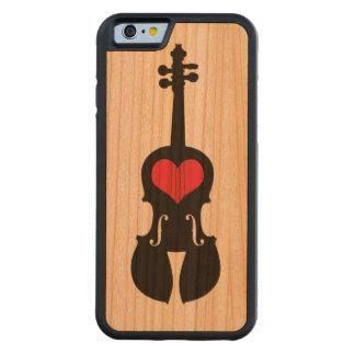 iphone 6 Violin Case Carved® Cherry iPhone 6 Bumper Case