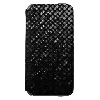 iPhone 6 Wallet Case Black Crystal Bling Strass