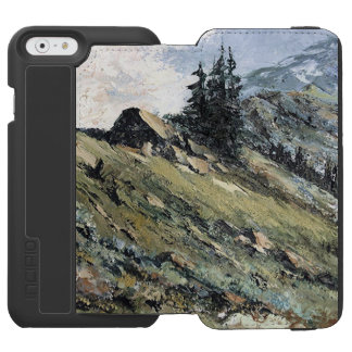 iPhone 6 Wallet Case with Original Nature Art