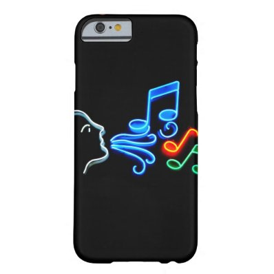 iPhone 6 whispering music phone case
