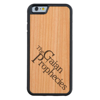 iPhone 6 with Gaian Accent Carved Cherry iPhone 6 Bumper Case