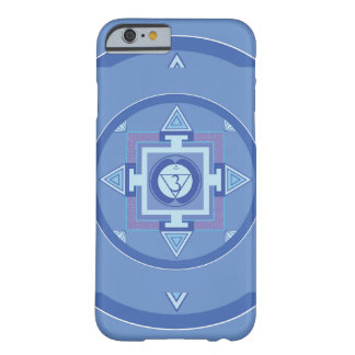 iPhone 6s sleeve Mandala Blue Barely There iPhone 6 Case