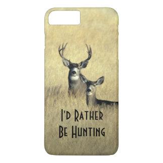iPhone 7/6Plus Masculine White Tail Mule Deer Buck iPhone 8 Plus/7 Plus Case