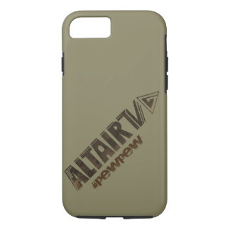 iPhone 7 6s tough case with ALTAIR TV branding