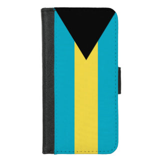 iPhone 7/8 Wallet Case with flag of Bahamas