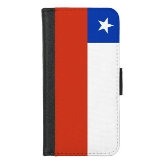 iPhone 7/8 Wallet Case with flag of Chile