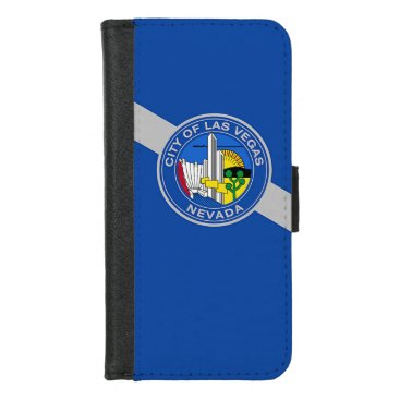 iPhone 7/8 Wallet Case with Flag of Las Vegas