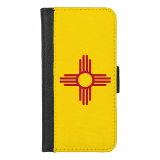 iPhone 7/8 Wallet Case with Flag of New Mexico