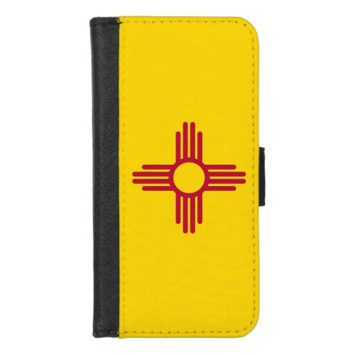 iPhone 78 Wallet Case with Flag of New Mexico