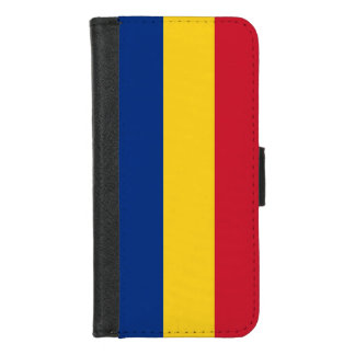 iPhone 7/8 Wallet Case with flag of Romania