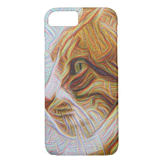 iPhone 7, Barely There (Psychedelic Cat) iPhone 8/7 Case