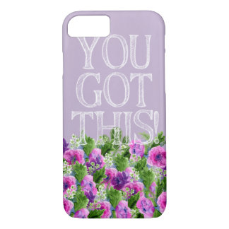 iPhone 7, Barely There - You Got This iPhone 8/7 Case