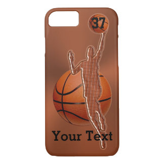 iPhone 7 Basketball Cases Jersey NUMBER and NAME
