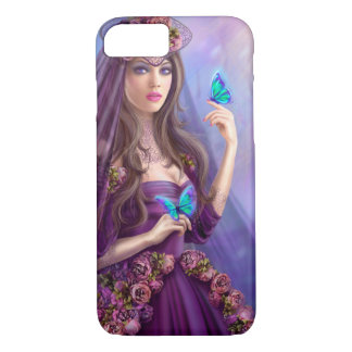 iPhone 7, Beautiful  fairy and butterflies iPhone 7 Case