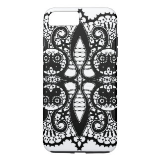 iPhone 7- BLACK LACEY LADY PHONE iPhone 7 Plus Case
