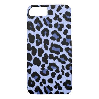 iPhone 7 Blue Cheetah Print Case