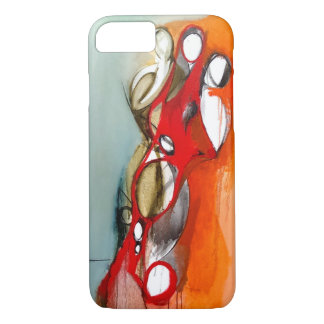 "iPhone 7 Case-""3 Figures Off-Center"" iPhone 8/7 Case"
