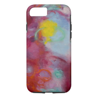 """iPhone 7 case, artwork entitled """"spin me round"""" iPhone 7 Case"""