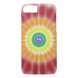 iPhone 7 case Barely There Case, Rainbow Peace Bur