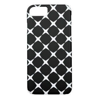 iPhone 7 case black color with white crosses