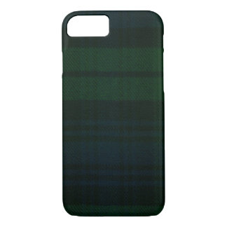 iPhone 7 case Black Watch Modern Tartan Case