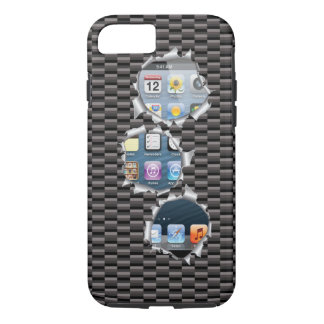 iPhone 7 case Carbon Template change image