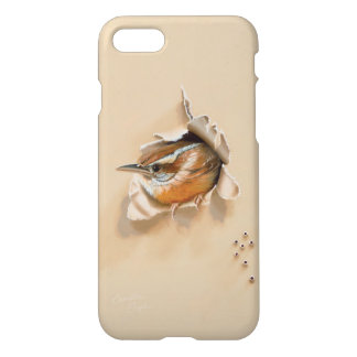 "iPhone 7 Case ""Carolina Wren"" by Camille Engel"