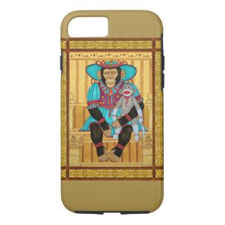 iPhone 7 case, chimp art by Zeek Taylor iPhone 8/7 Case