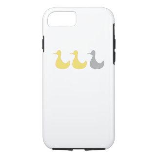 iPhone 7 case Duck  Gray Duck