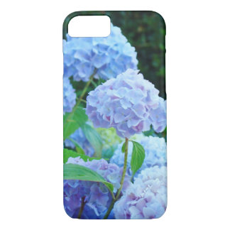 iPhone 7 case floral cell phone covers Blue Hydran