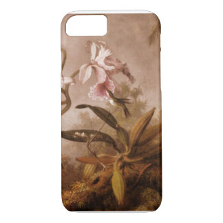 iPhone 7 case-Flowers and Hummingbirds iPhone 7 Case