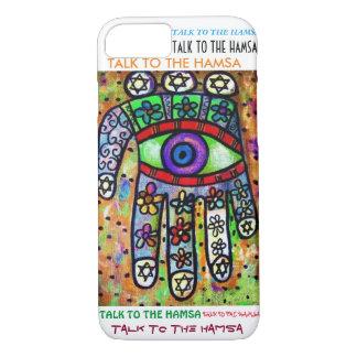 iPhone 7 case Garden Oasis Hamsa cell