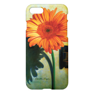 "iPhone 7 Case ""Gerber Daisy"" by Camille Engel"
