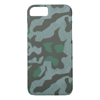 Iphone 7 case German WWII Camouflage Splinter A
