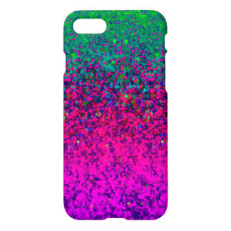 iPhone 7 Case Glitter Dust Background