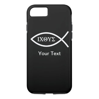 iPhone 7 case - Ichthys - Your Text - Template