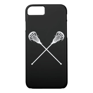 iPhone 7 case Lacrosse Sticks Black
