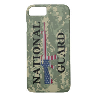 iPhone 7 case National Guard Green Camo