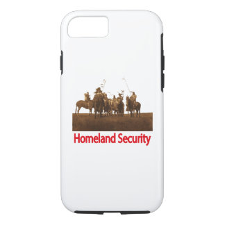 iPhone 7 case Native American Homeland Security