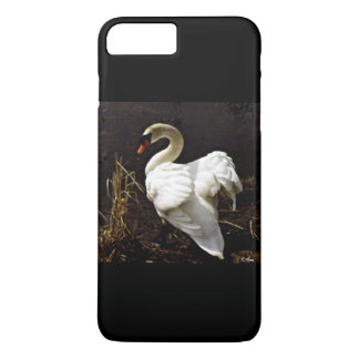 iPhone 7 CASE - NATURES GIFT-A WILD SWAN-ARA PHOTO