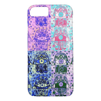 iPhone 7 case Navy River Hamsa cell
