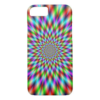 iPhone 7 Case  Neon Star Exploding