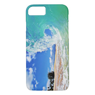 iPhone 7 case Ocean Wave Photo by Paul Topp