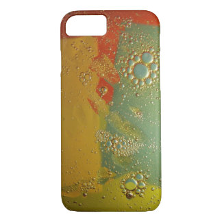 iPhone 7 case, oil and water - yellow iPhone 8/7 Case