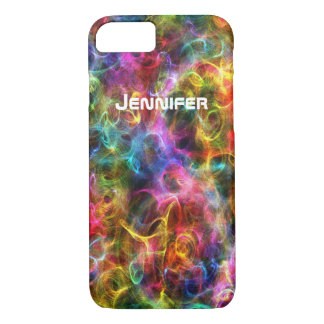 iPhone 7 Case | Rainbow Lights | Personalized