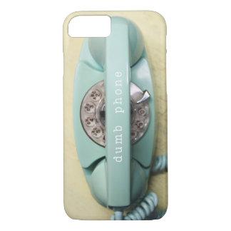 iPhone 7 case- retro aqua princess phone iPhone 7 Case