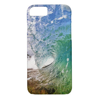 iPhone 7 case Shades of Blue Ocean Wave Photo