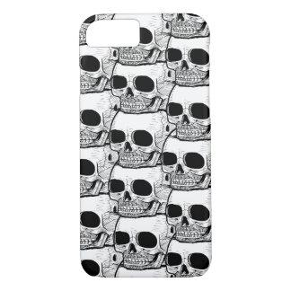 iPhone 7 Case: Skull Pattern iPhone 7 Case